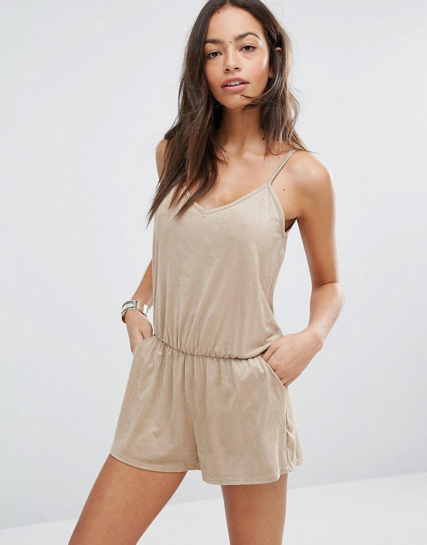 26c72ba49f9a SURF GYPSY FAUX SUEDE BEACH ROMPER - STONE.  surfgypsy  cloth ...