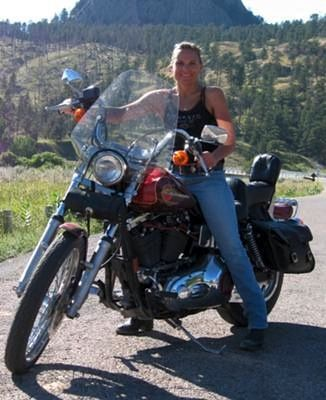 All In a Days Ride! I ride a 1995 Dyna Wide Glide.  Her and I spend many hours on the road together riding alone, with family, or friends. She is definitely my MOJO and lifts