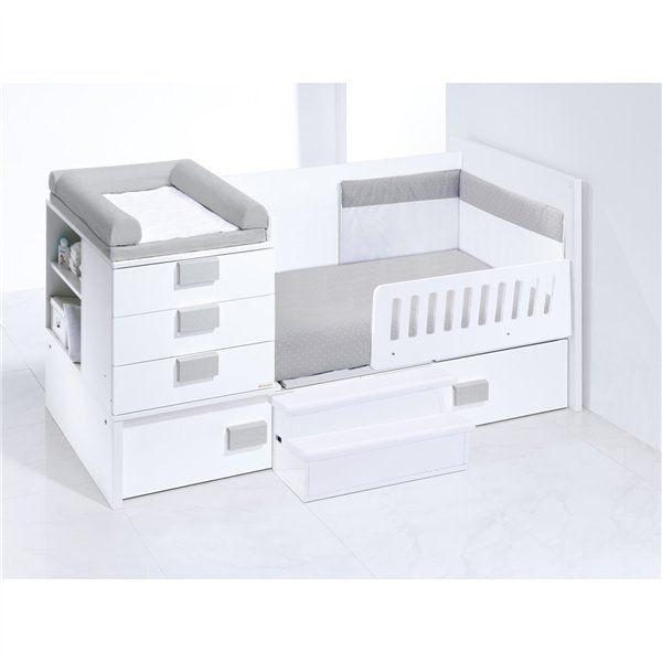 buscas una cuna convertible de beb en habitacin juvenil completa este modelo te