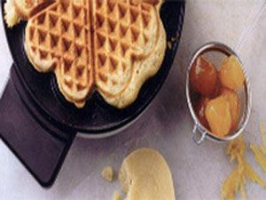 Ginger Marzipan Waffles Recipe - Emely's Recipes