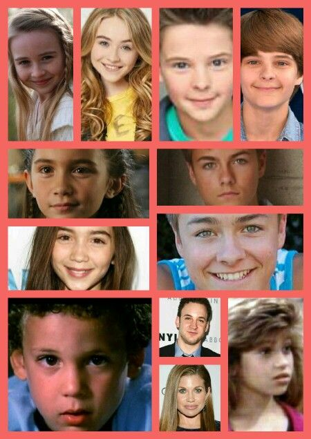 Girl meets world then and now