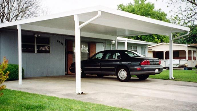 Constructed To Be Affordable Maintenance Free Attractive And Custom Fit To Your Home Or Business Covering Your Aluminum Carport Carport Patio Carport Designs
