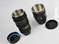 They Are Practical Thermal Beverage Mugs That Look Like Expensive Camera  Lenses! You Have The