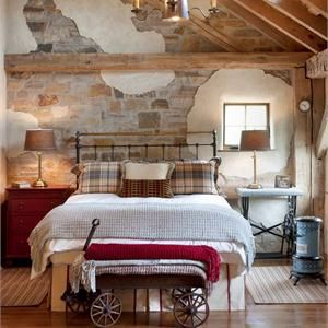 Country rustic country bedroom by irwin weiner for Rustic country bedroom