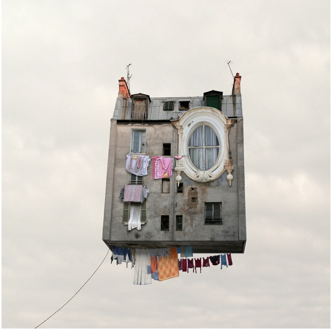 """Laurent Chehere """" Flying House"""""""
