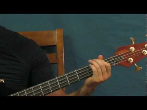 Easy Bass Guitar Lesson Tnt Acdc Acdc Guitar Lessons Songs