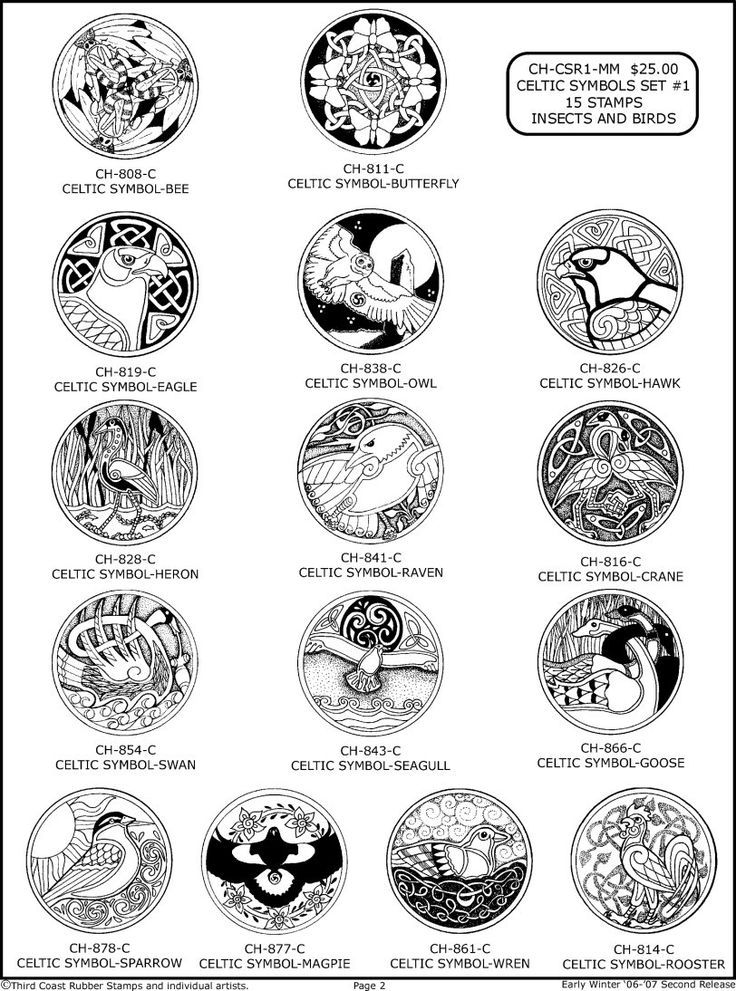 Celtic Symbols And Meanings Chart Google Search Tattoo