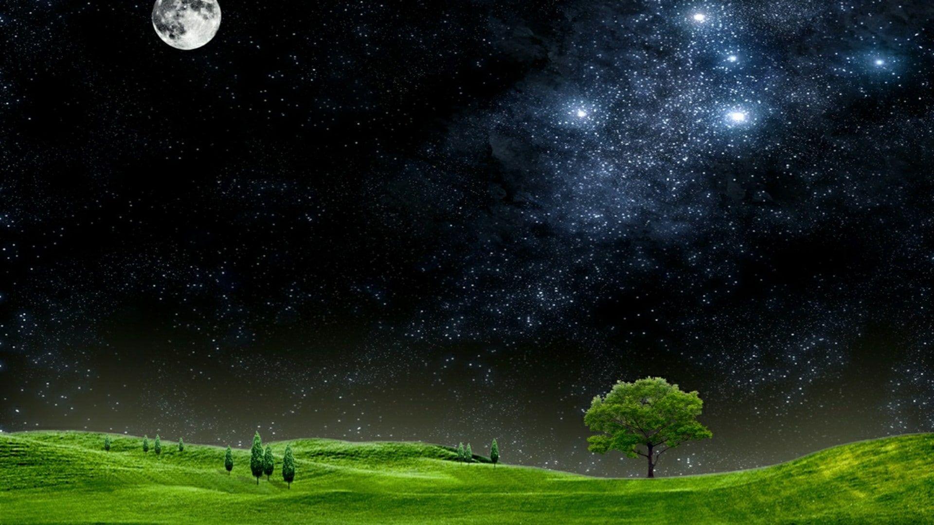 Nature Milky Way Stars Landscape Sky Mountains 1080p Wallpaper Hdwallpaper Desktop Scenic Photography Landscape Landscape Wallpaper