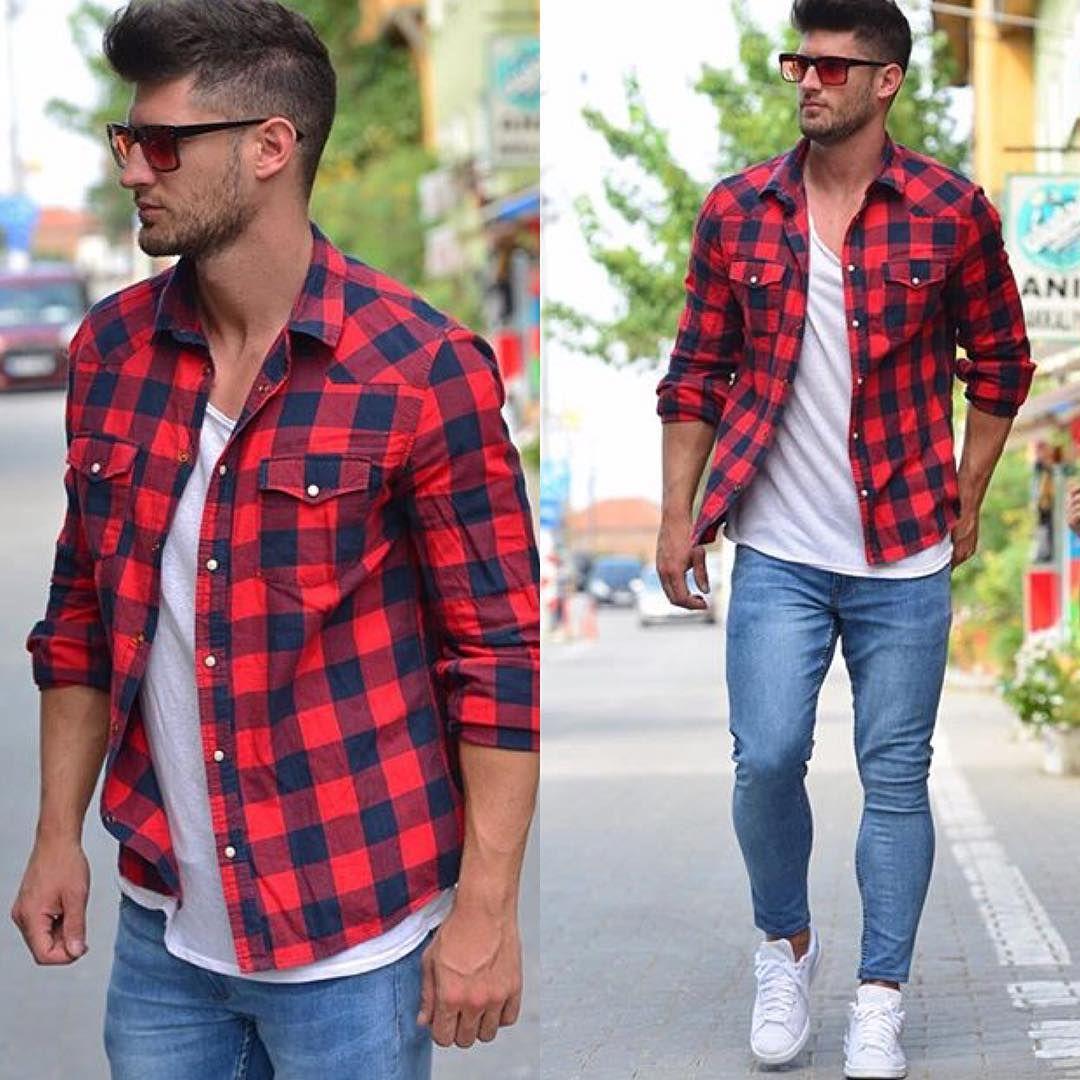 Como usar camisa xadrez masculina com estilo