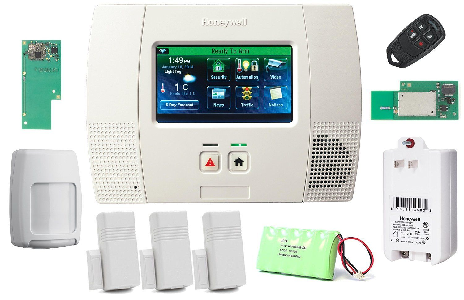 The honeywell wireless lynx touch l5200 home securityautomation honeywell wireless lynx touch home automationsecurity alarm kit with wifi and zwave module unbelievable item right here diy do it yourself today solutioingenieria Image collections
