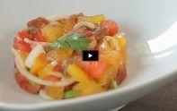 Recette facile : tartare de tomate