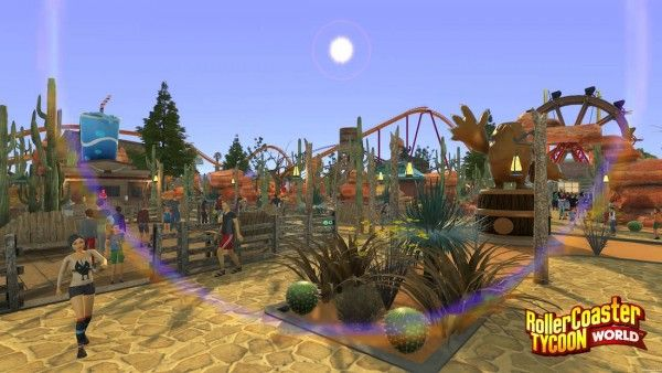 According to Amazon com, RollerCoaster Tycoon World will be
