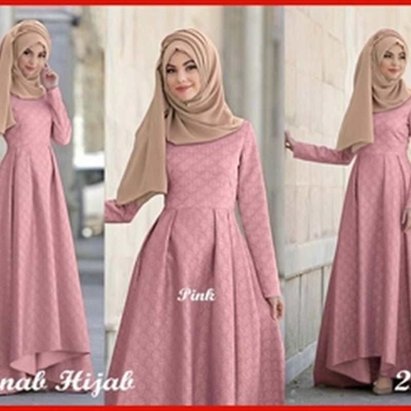 Bbg Model Baju Gamis Grece Pink Modis Modern Kode 2272 In 2018