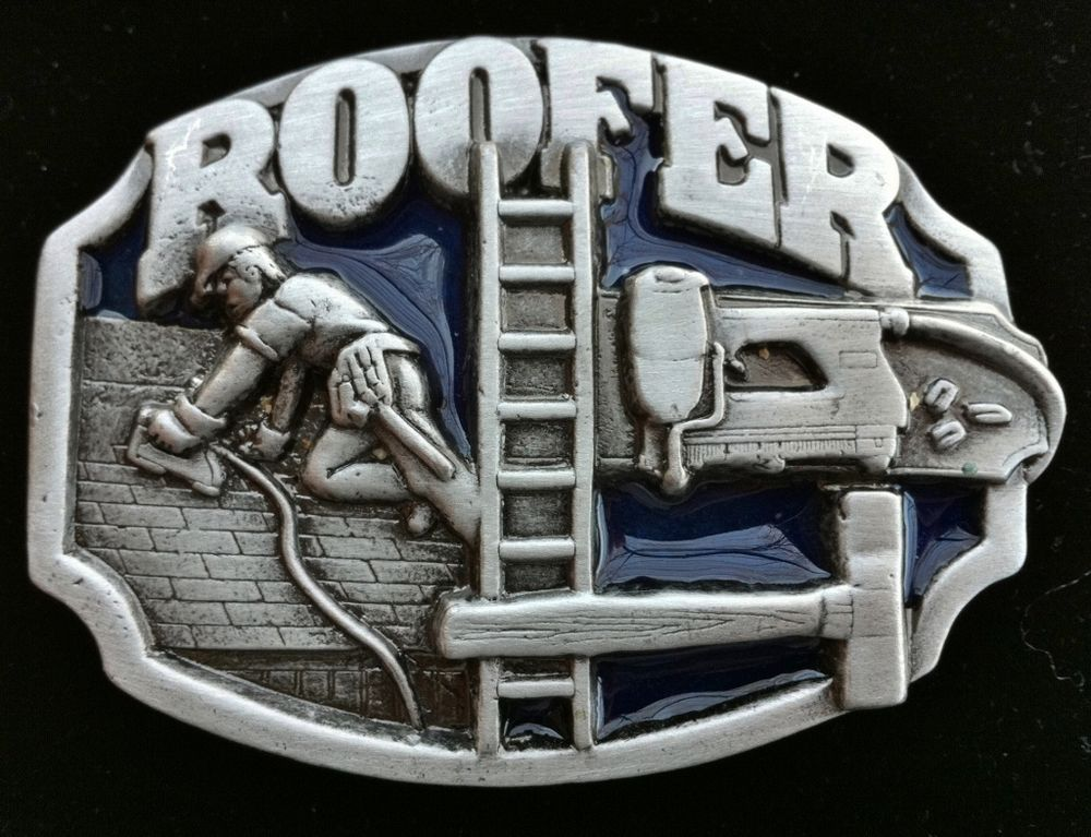 ROOFER WORKER CONSTRUCTION ROOF WORK TOP REPAIRS TOOLS