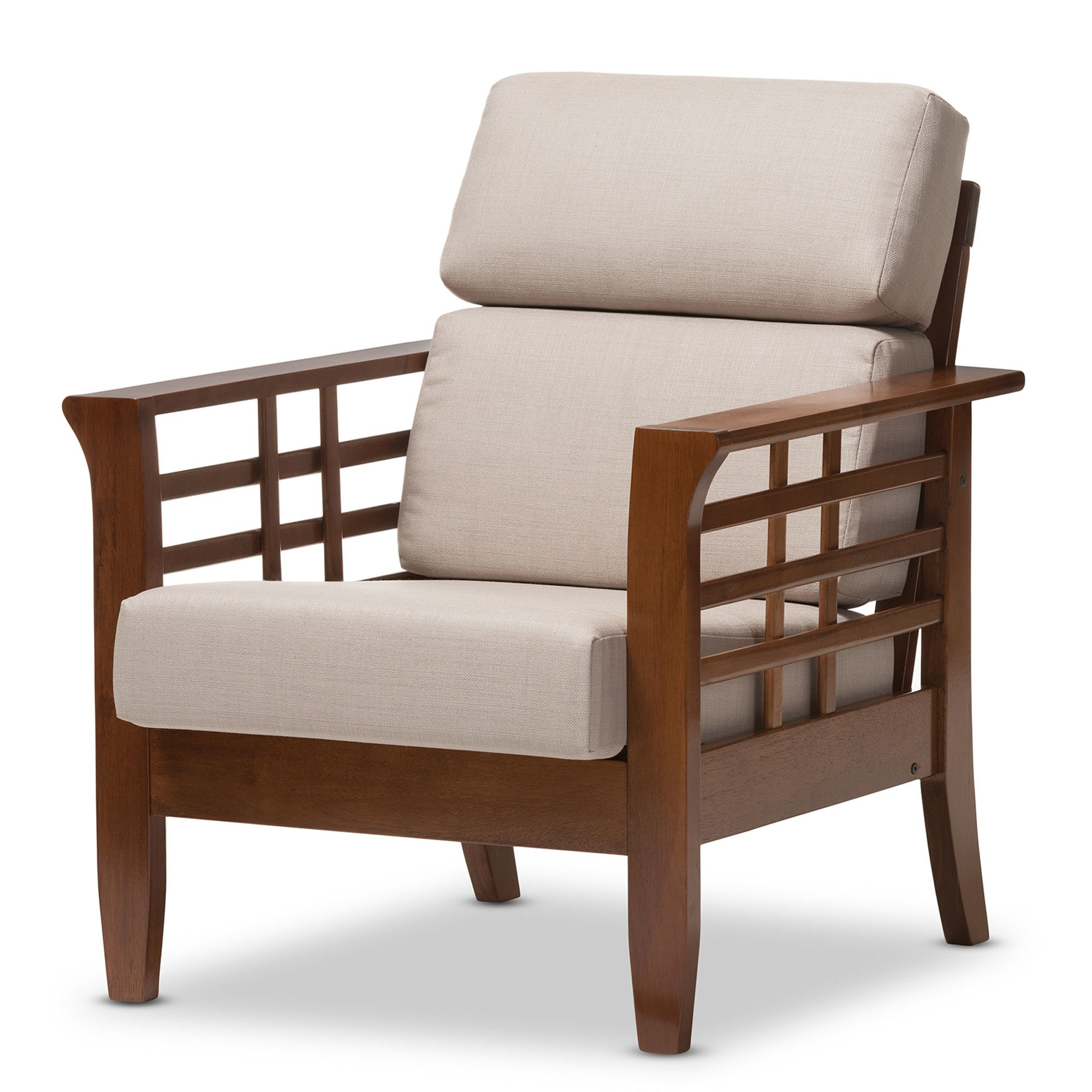 Orlie Lounge Chair Beige Lounge Chair Lounge Chairs Living Room Mission Style Living Room