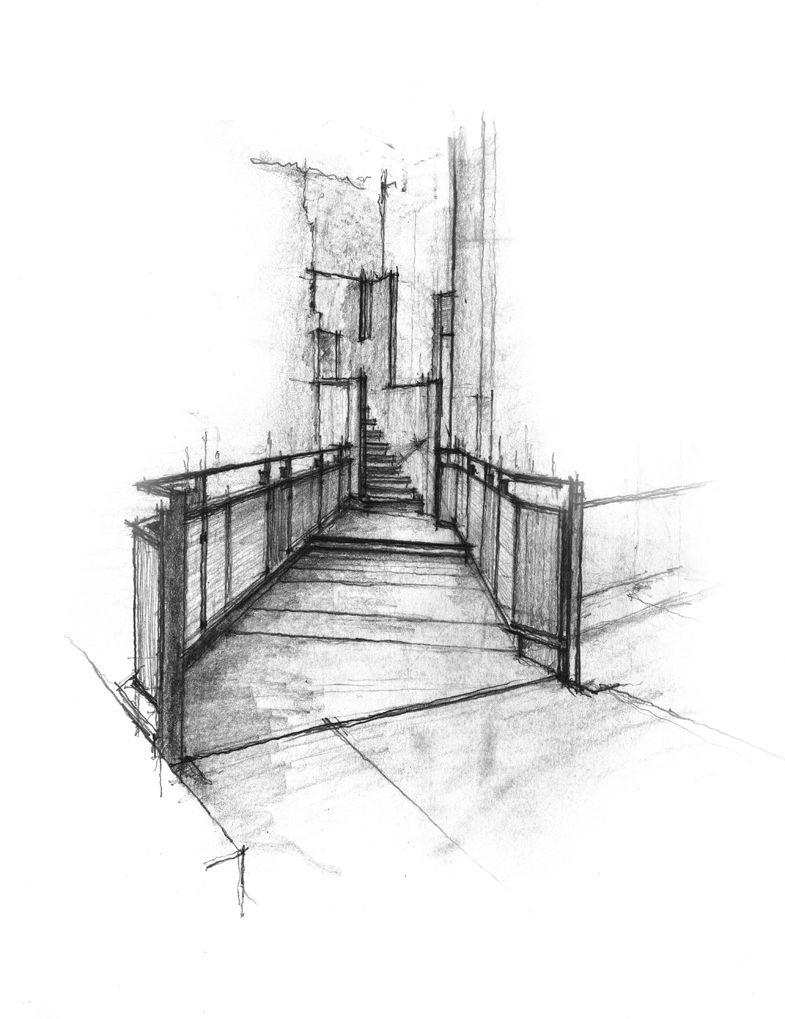 Daniel Mowery / Vicenza Drawing: Castelvecchio | Zeichnungen, Skizzenbuch,  Grafik