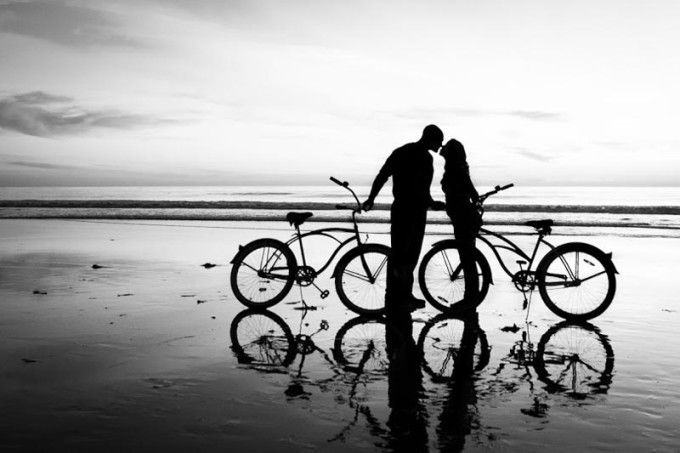 Beach Photography - How to create great children or couple silhouettes #photography #beach