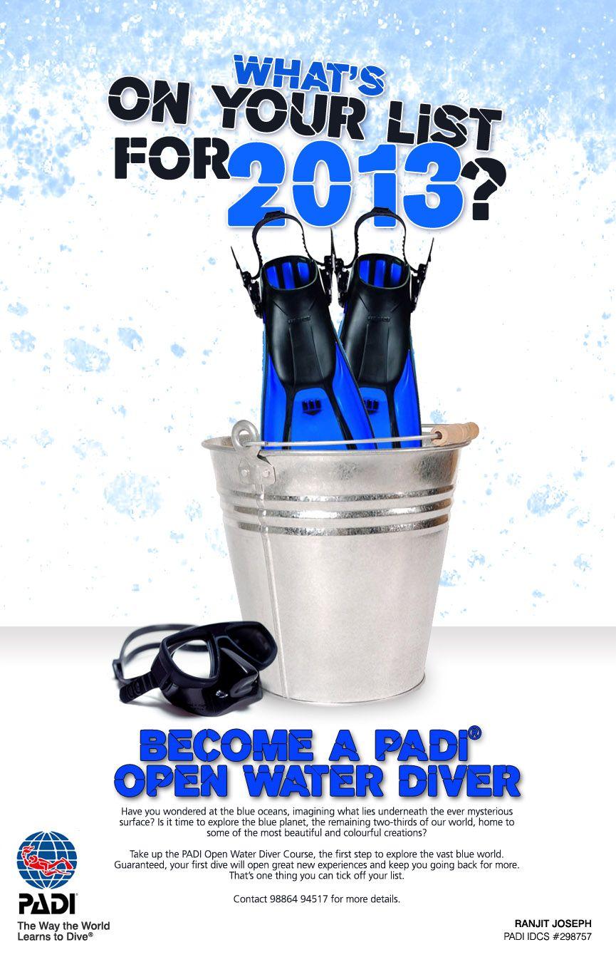 Poster design adobe illustrator - Poster Design Dive Course Promotion Work Done Concept Execution Softwares Adobe Photoshop