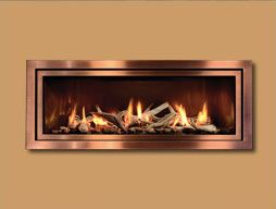 Fullview Modern Linear Series Gas Fireplaces By Mendota