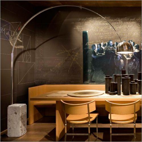 stehlampe design flos holzmöbel küche Interior Pinterest Design - moderne holzmobel wohnzimmer