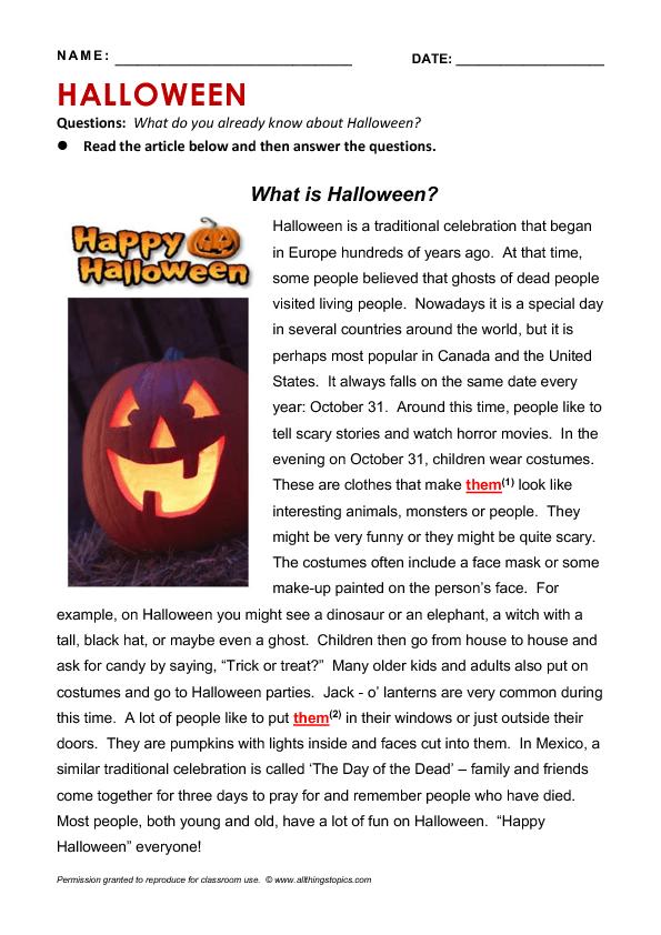 Pin On Halloween Essay