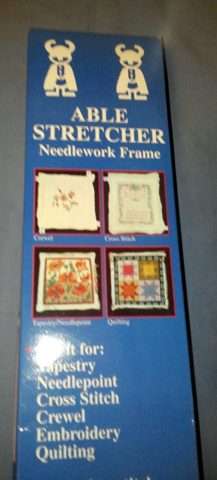 Able Stretcher Needlework Frame with Clips by Viking Loom | Products