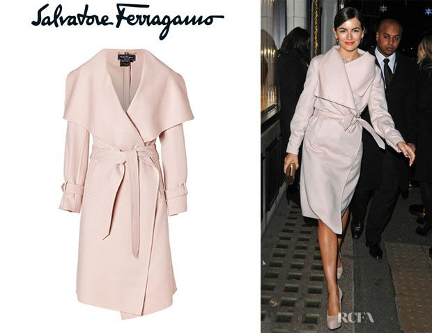 salvatore ferragamo wool coats | 590c6 Camilla Belles Salvatore ...