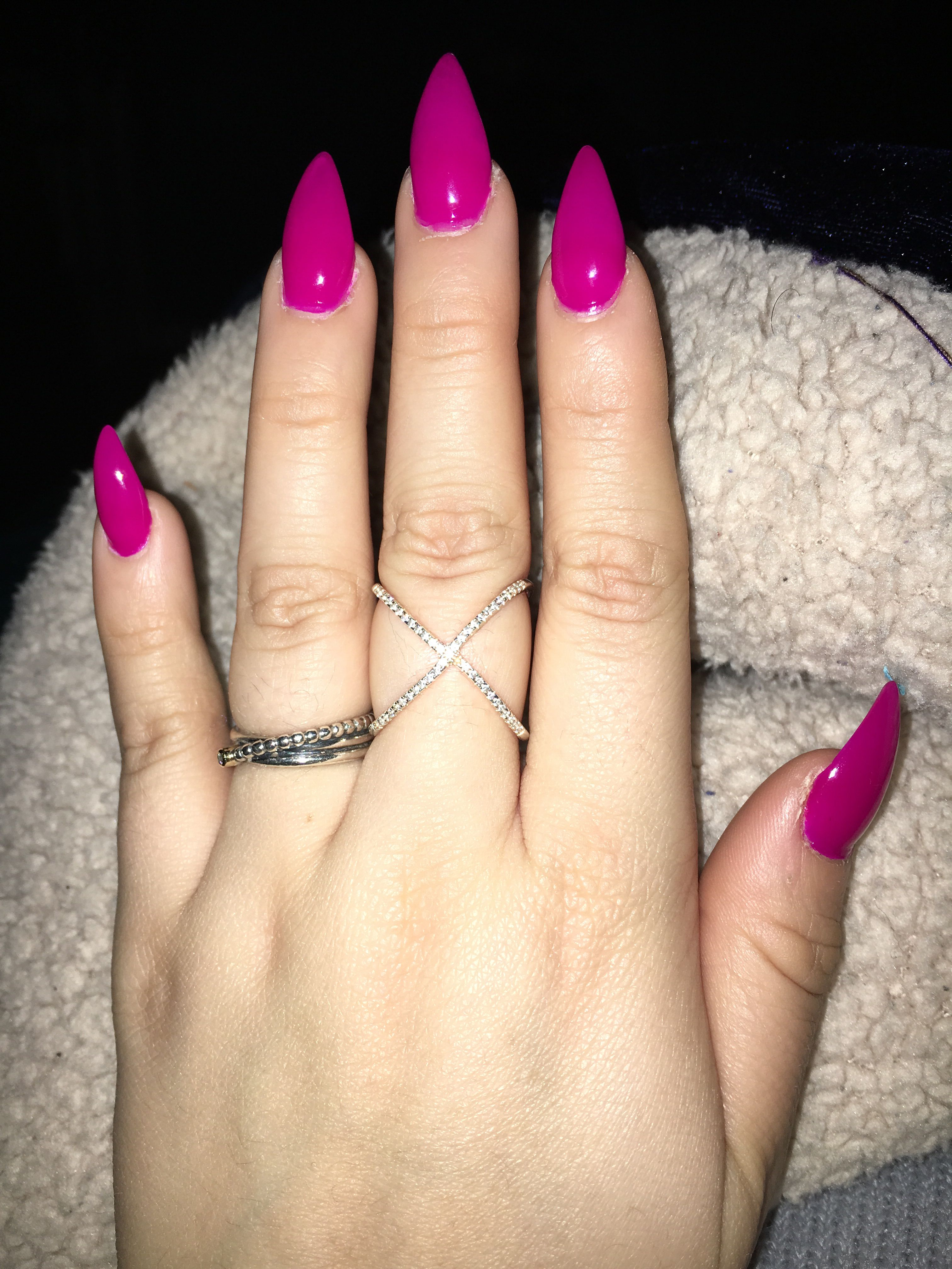 January Nail Color by Claries | MAC Ideas | Pinterest