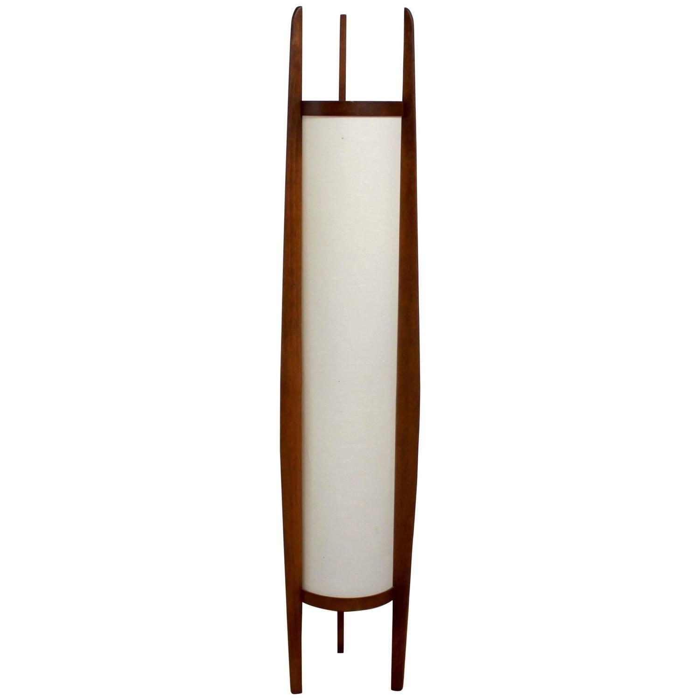 1960s Danish Modern Sculptural Teak Modeline Floor Lamp 1stdibs