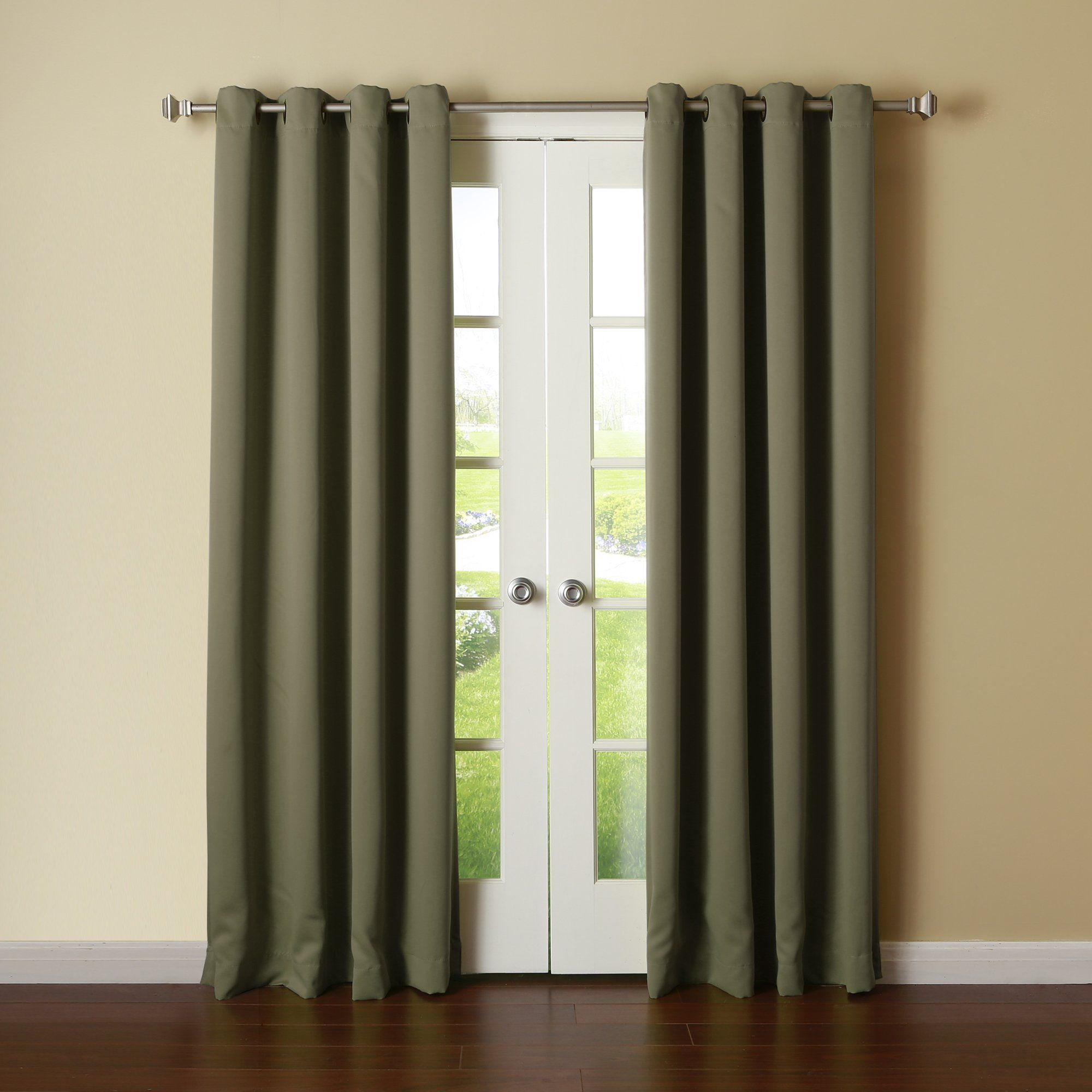 thermal antique w best camel home amazon of suede insulated l com fashion faux curtains dp grommet blackout top bronze panels x set curtain