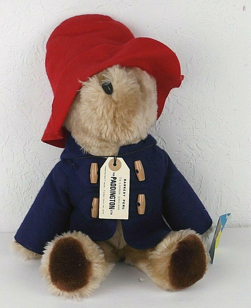 paddington bear stuffed animal # 68