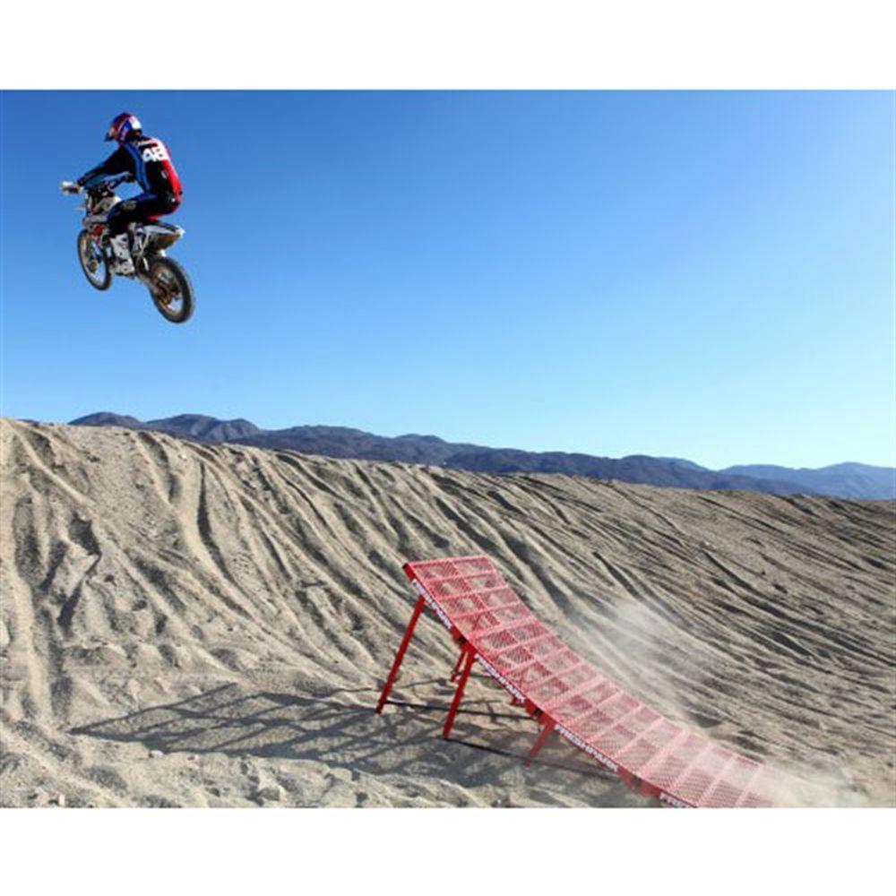 Freshpark Portable Moto Jump Ramp Adjustable Up To 3 4 High