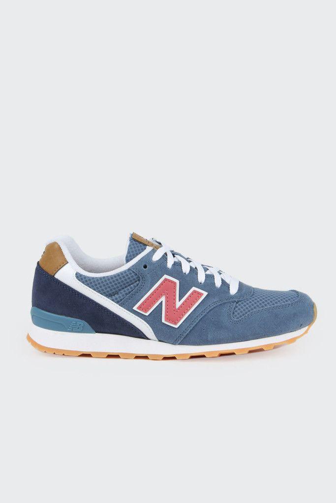New Balance, Womens Lifestyle 996 - blue/tan