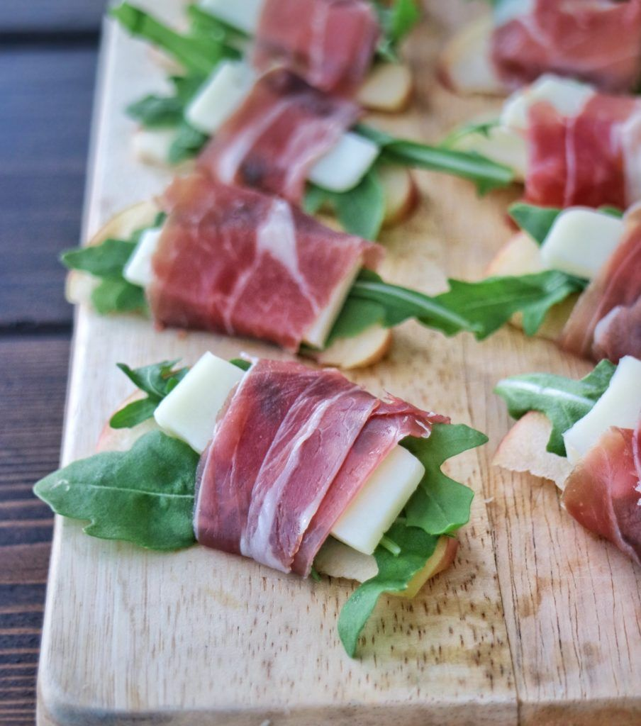 Prosciutto Wrapped Apple Bites » The Nutrition Adventure