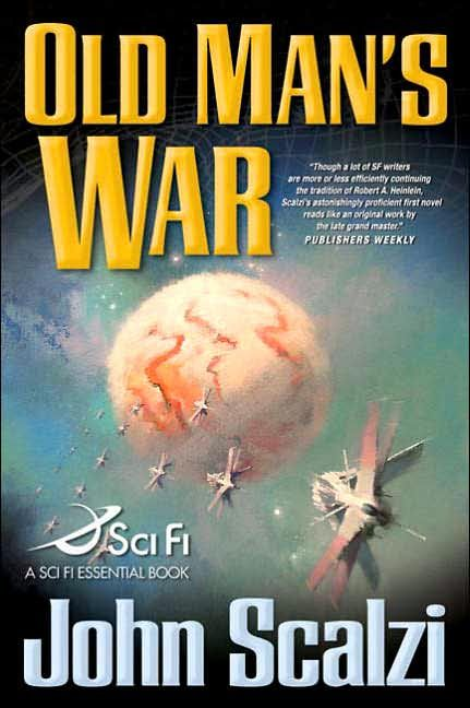 Old Man's War by John Scalizi - FANTASTIC READ! If you like Sci-Fi you MUST read this book.