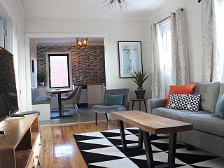 Scandinavian+inspired+3+bedrooms+with+Queen+beds,+7+min+from+metro,+New+bathroom+++Vacation Rental in Montreal from @homeaway! #vacation #rental #travel #homeaway