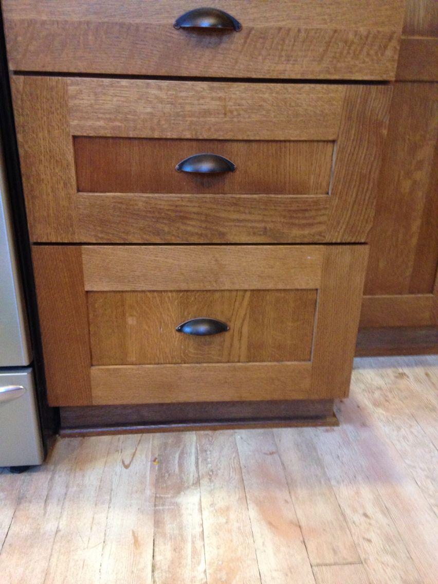 Pickled White Washed Old Original Fir Wood Floor Kitchen