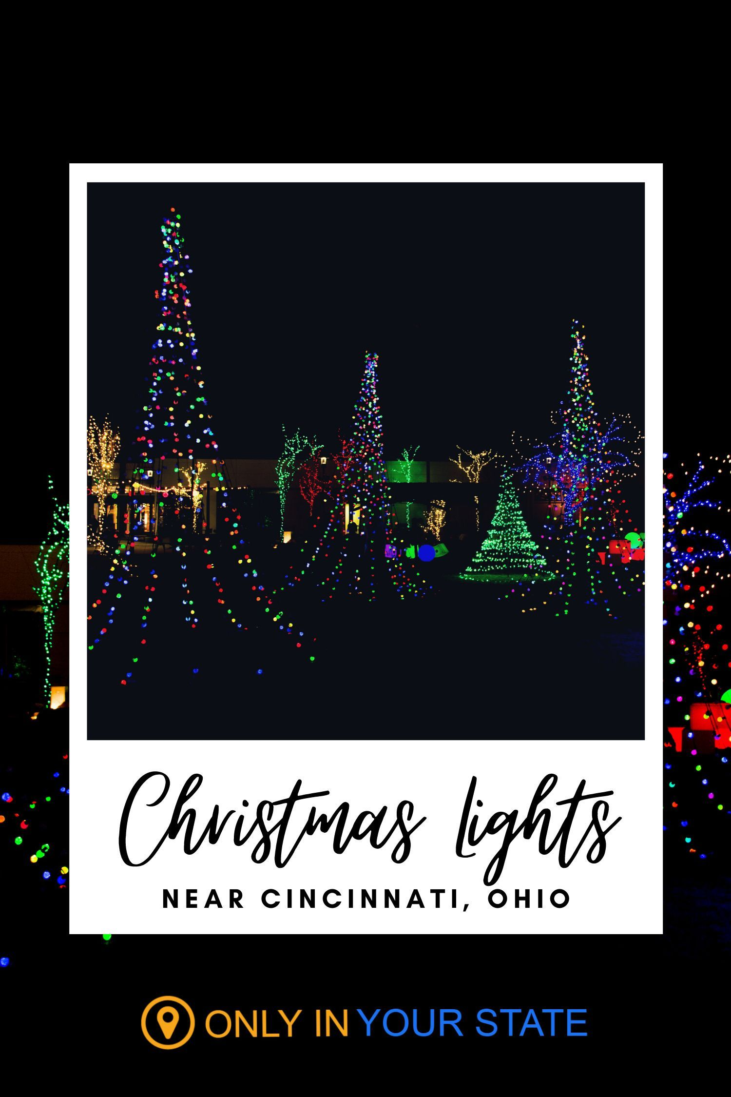 Christmas Things To Do In Cincinnati : christmas, things, cincinnati, Drive-Thru, Christmas, Lights, Displays, Cincinnati, Whole, Family, Enjoy, Lights,, Light, Displays,