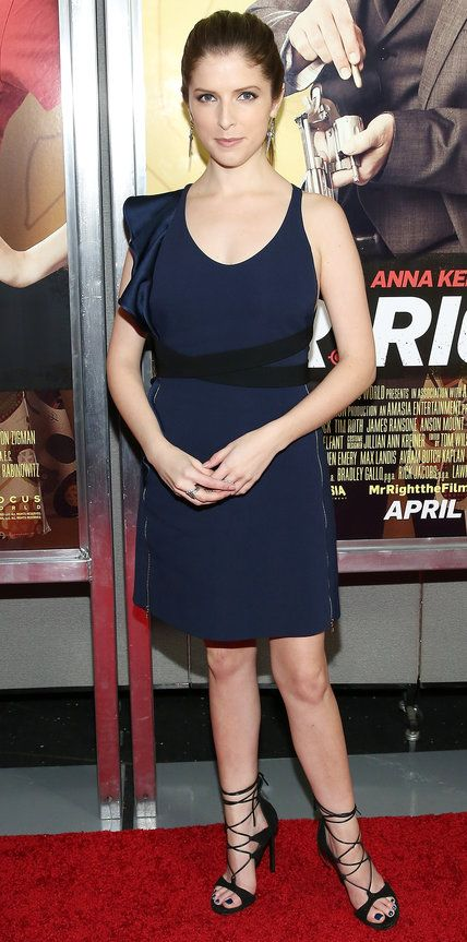 Look of the Day - Anna Kendrick - from InStyle.com