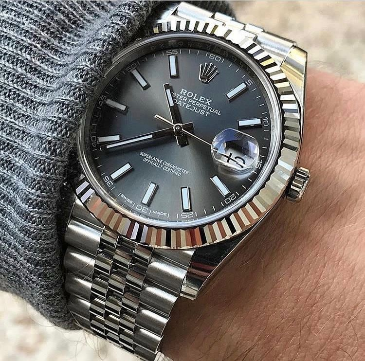 Dark face Rolex #rolexwatches