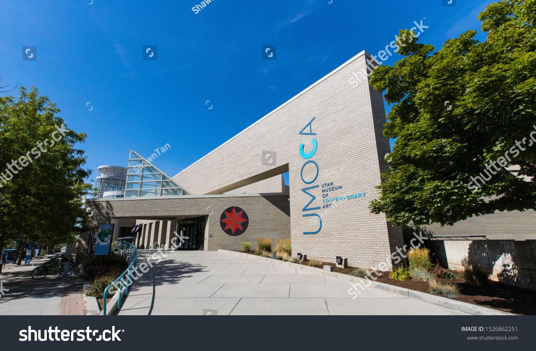 Salt Lake City, Utah / USA - Aug 5th, 2019 : Utah Museum of Contemporary Art #Ad , #ad, #Utah#u002F#City#Salt #utahusa