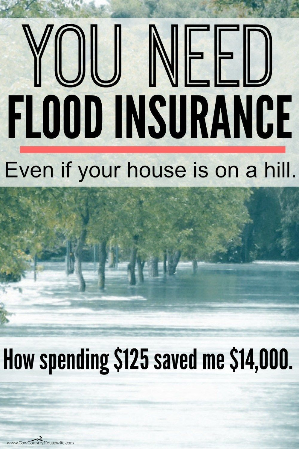 You Need Flood Insurance Flood Insurance Insurance Marketing Flood