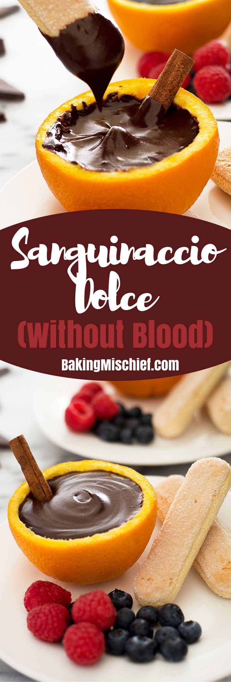 0160b4d736 You can make Sanguinaccio Dolce without blood for a surprisingly easy