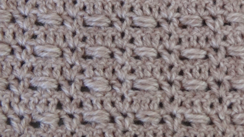Crochet.Punto tejido a ganchillo 2.