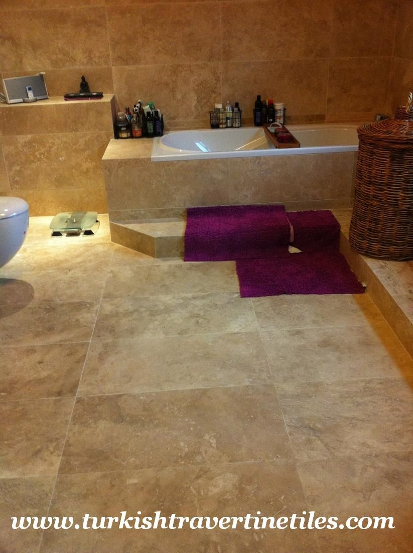 Bathroom  Heavenly Bathroom Design Ideas With Travertine Tile Impressive Flooring For Bathrooms Design Decoration