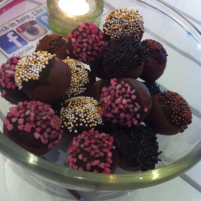 cake pops chokladboll