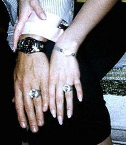 Elvis And Priscilla Had Matching Diamond Horseshoe Rings