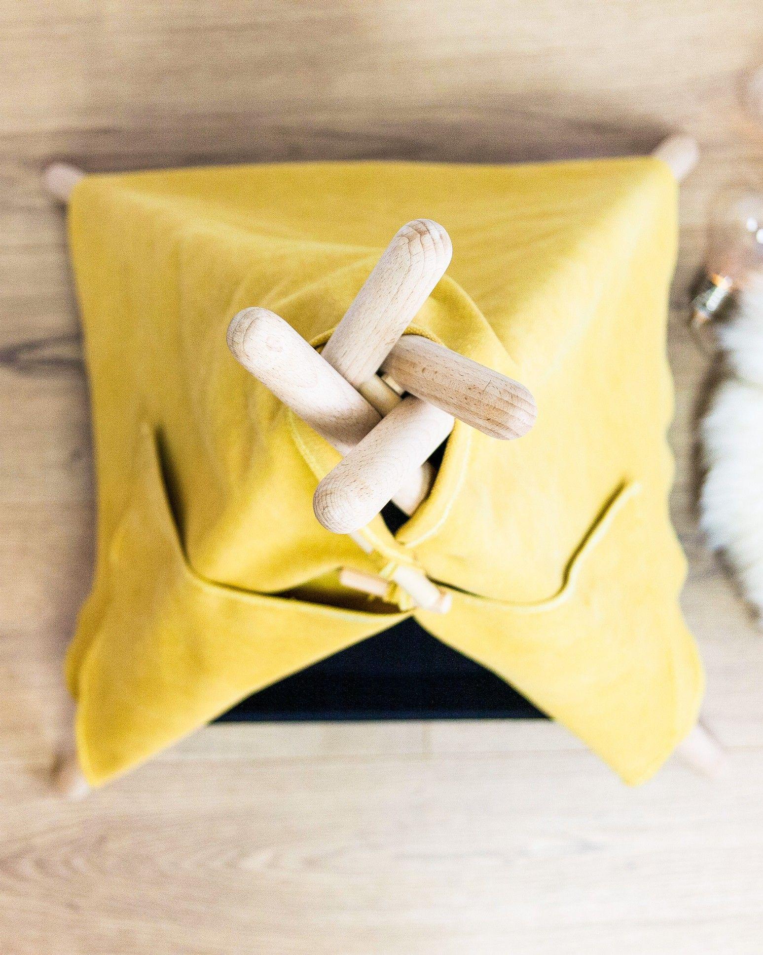 Yellow Cat House Wooden Cat House Light Bulb Cat Accessories Wooden Accessories Wooden Handmade Wooden Cat Teepee Wooden Cat Cat Teepee Wooden Cat House