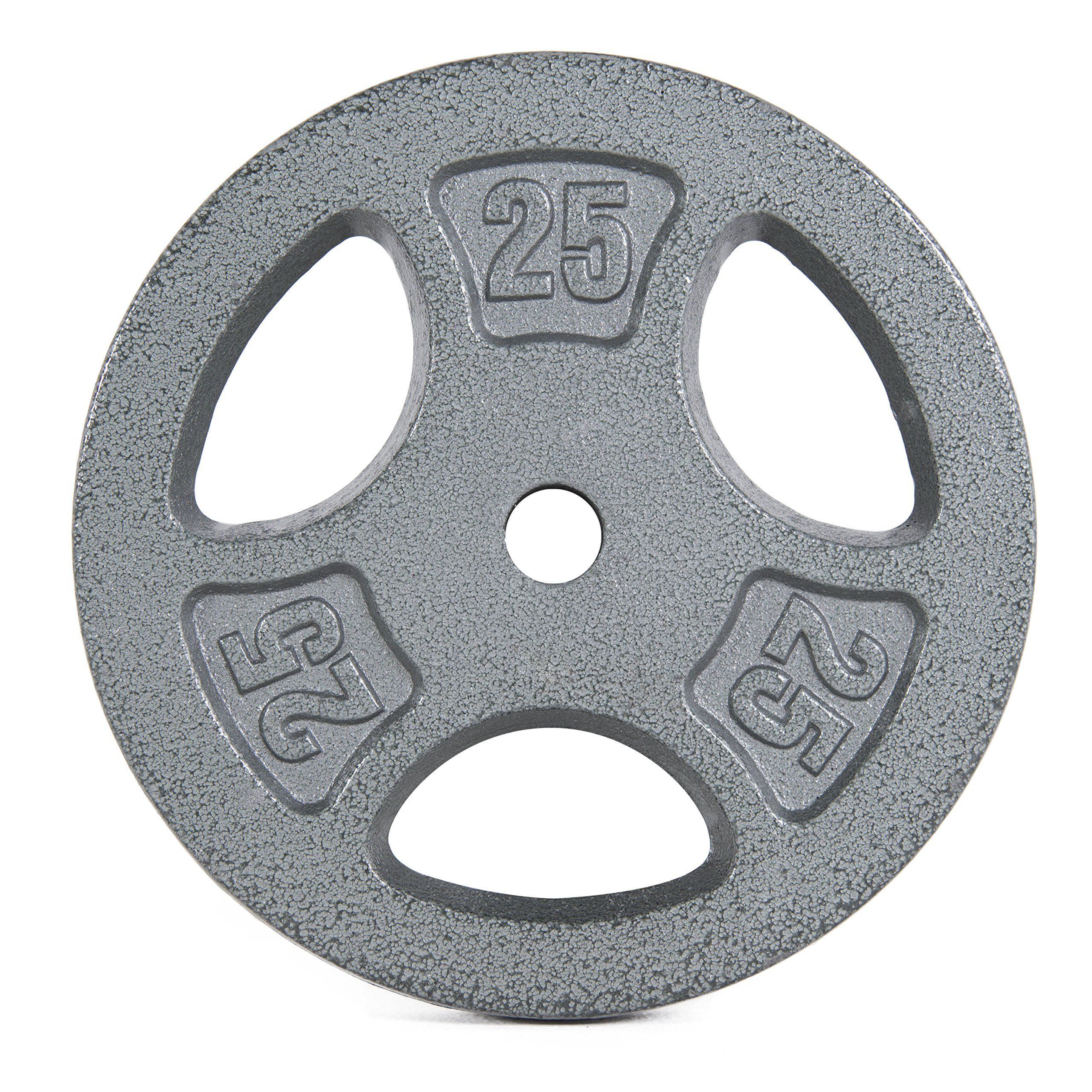 CAP Barbell Machined Olympic Grip plate Gray