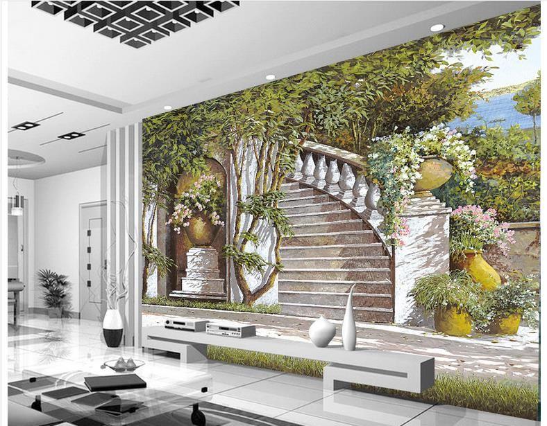 Custom 3d Photo Wallpaper For Walls 3 D Wall Murals Wallpaper Mural